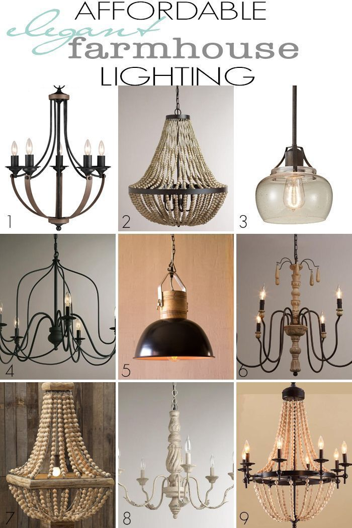 Affordable chandeliers ideas