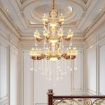 Modern stylish large chandeliers
