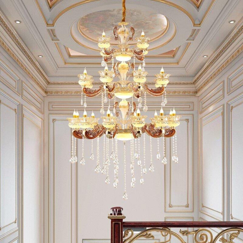 Modern stylish large chandeliers
