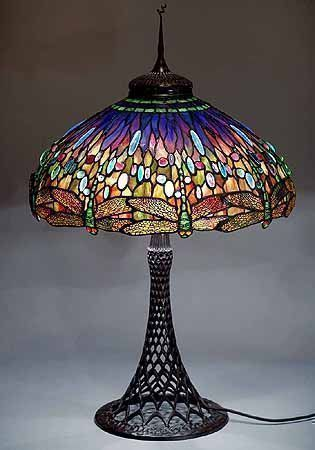 Authentic tiffany floor lamp