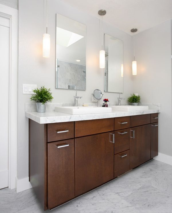 Bathroom lighting above the mirror – the perfect lighting in the bathroom