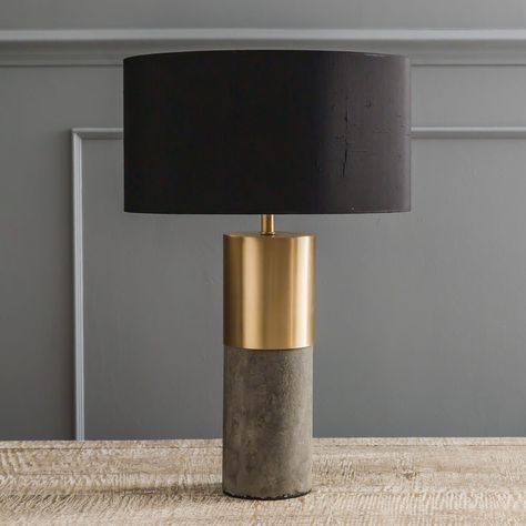Brass table lamp is best for home decor