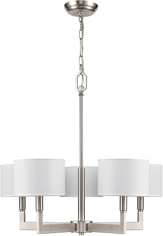 Brushed nickel pendant lamp: an incredible light source
