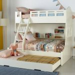 Bunk beds with a roll