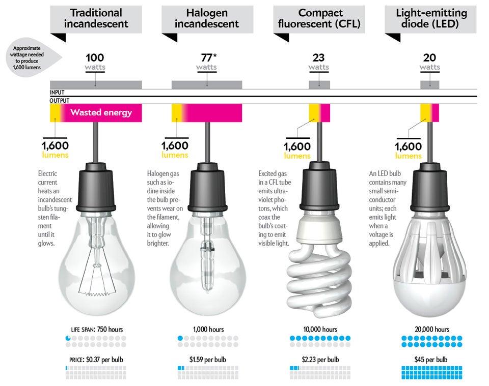 Buying a light bulb
