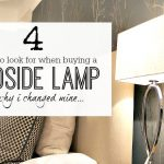 Buying bedside lamps
