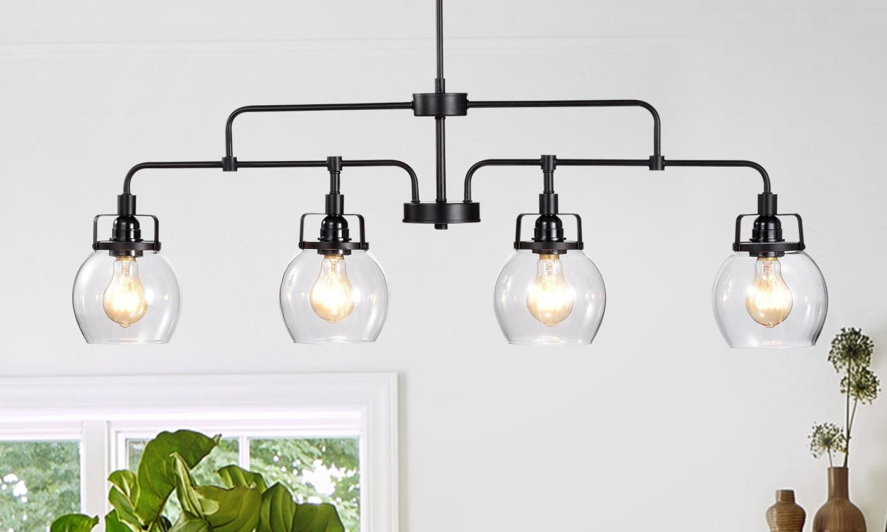 Buying lighting fixtures at home