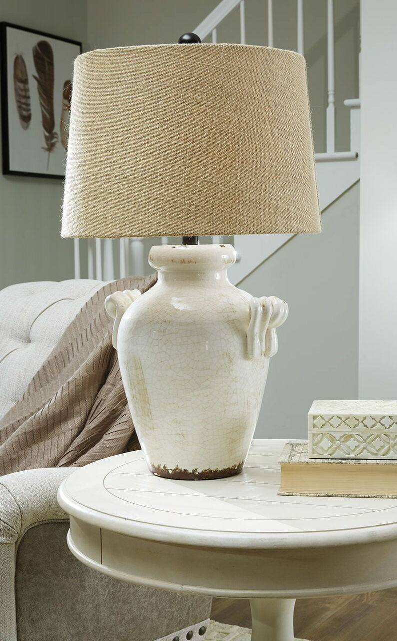 Ceramic table lamps for living room