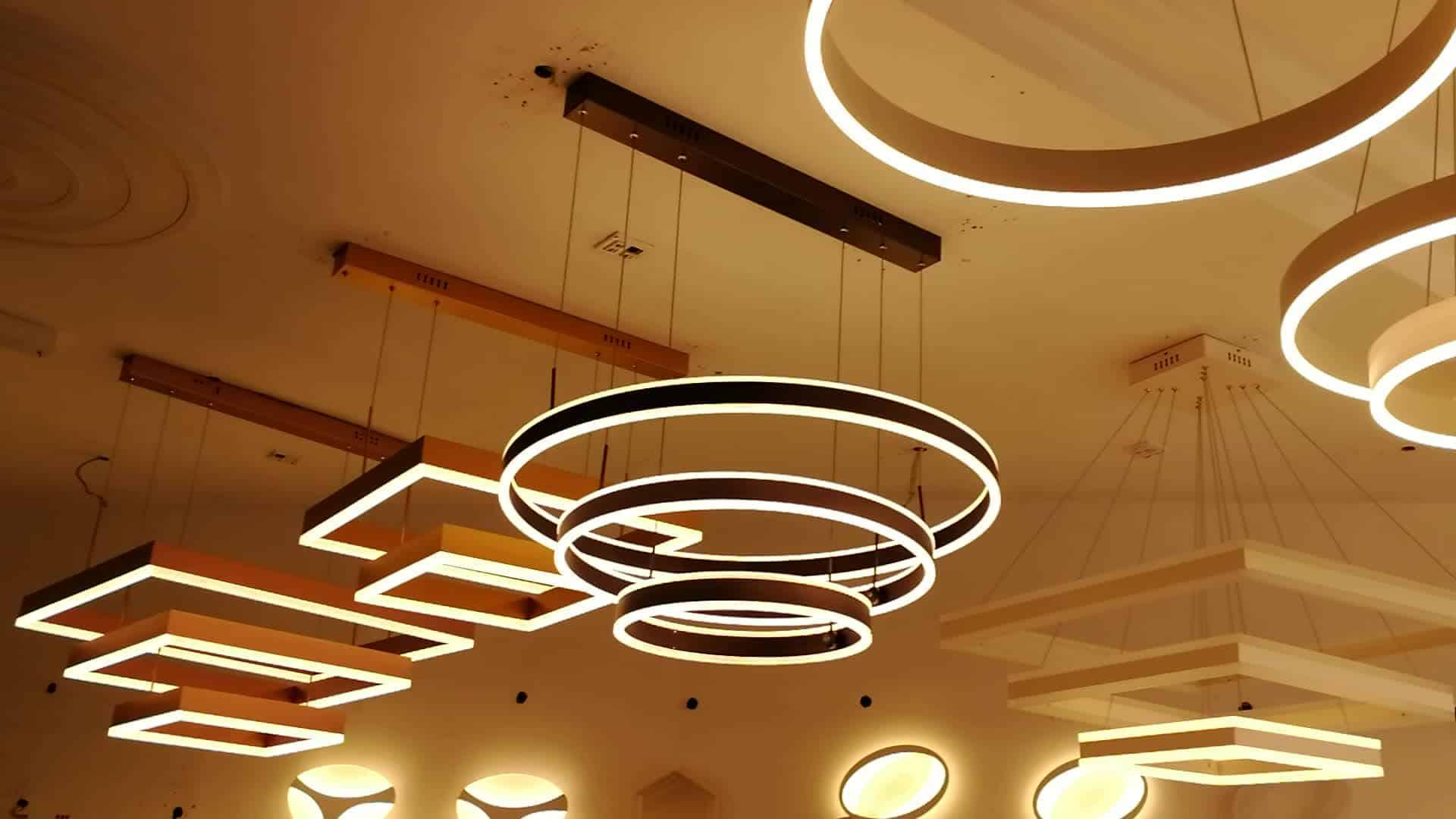 Chandelier ceiling lamp trends
