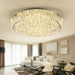 Chandelier in the living room
