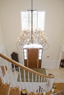 Chandeliers for the foyer
