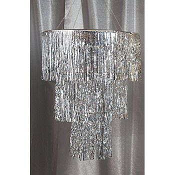 Chandeliers in silver for shimmering