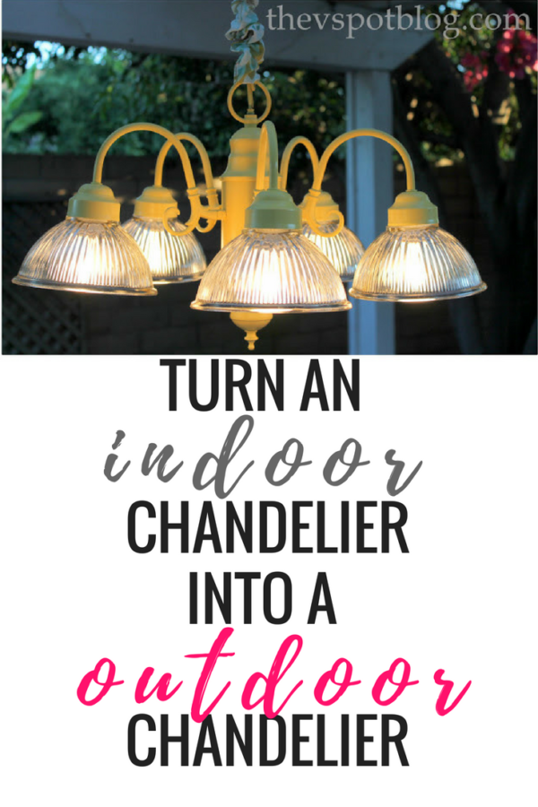 chandeliers outdoors – tips to remember