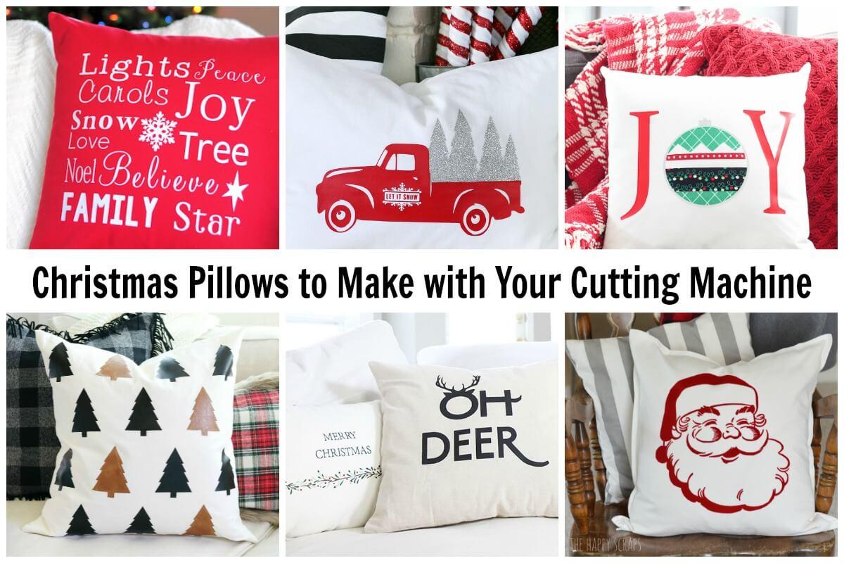 cheap Christmas pillowcases to make