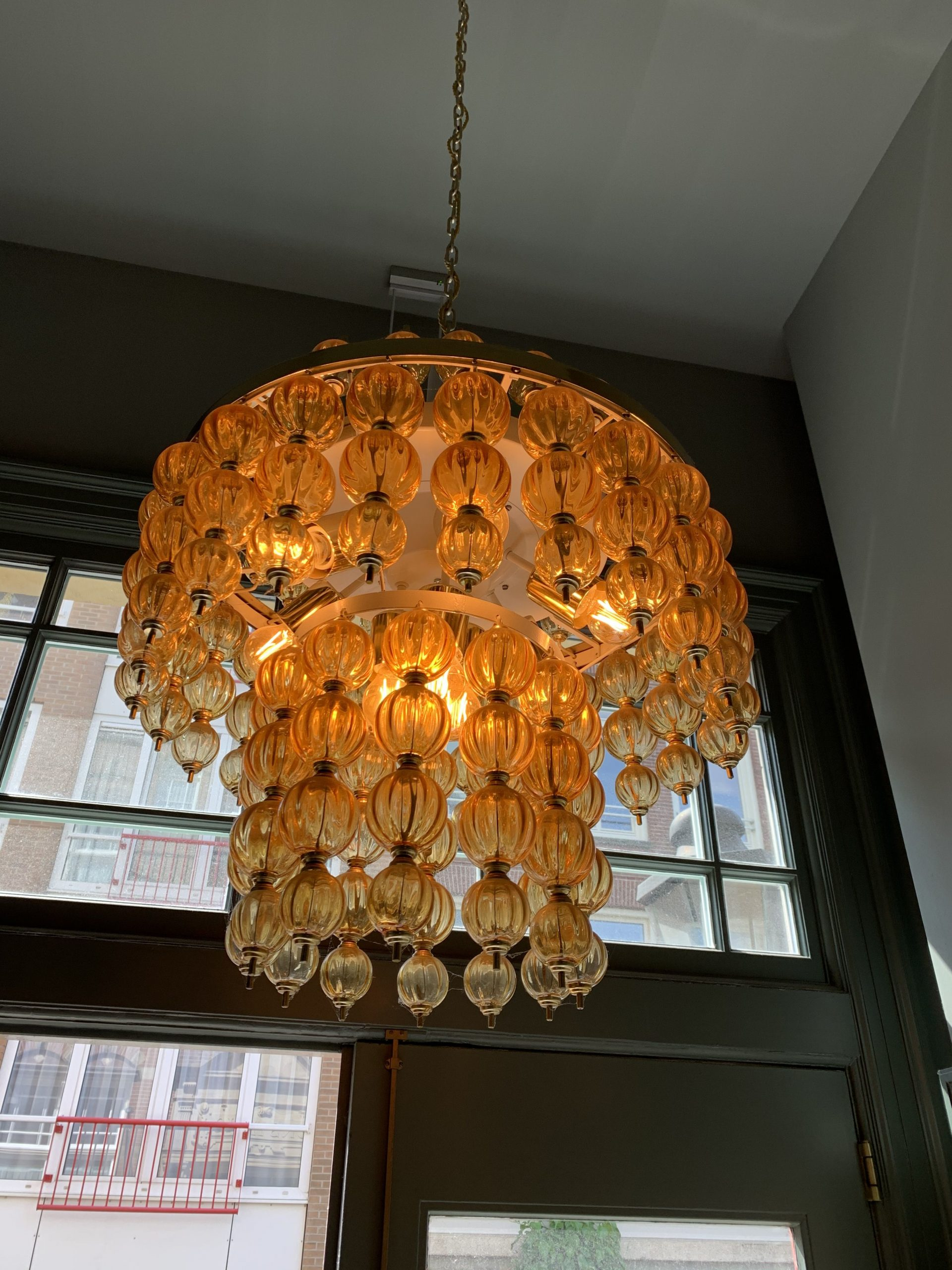 Choice of chandelier in design