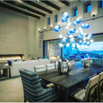 Choose modern chandeliers for the dining room
