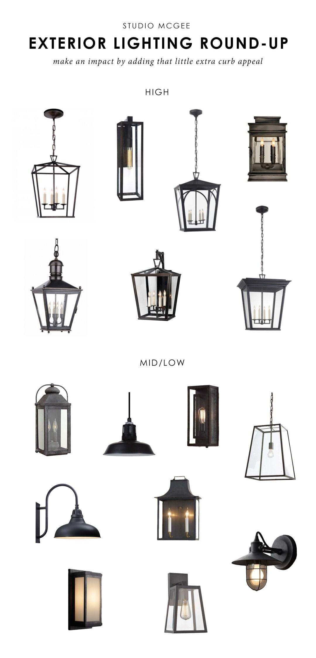 choosing exterior lamps