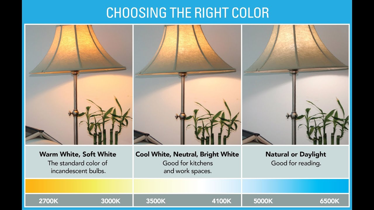 Choosing light bulbs