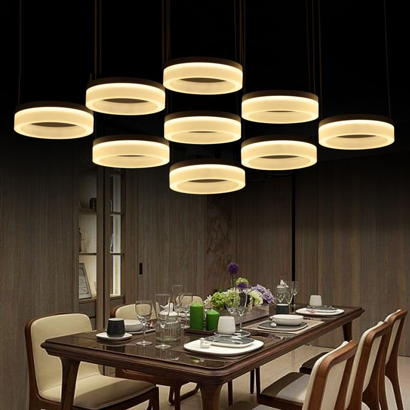 Commercial pendant lights