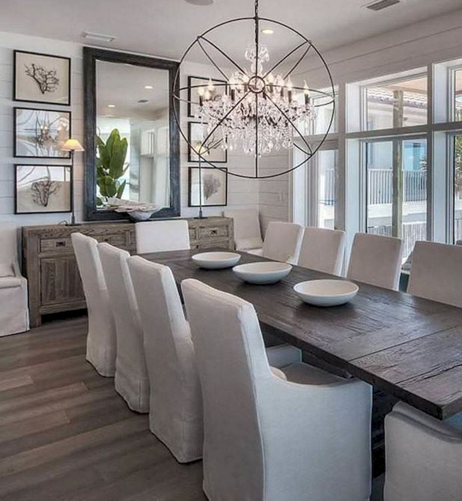 Contemporary chandeliers for the dining room