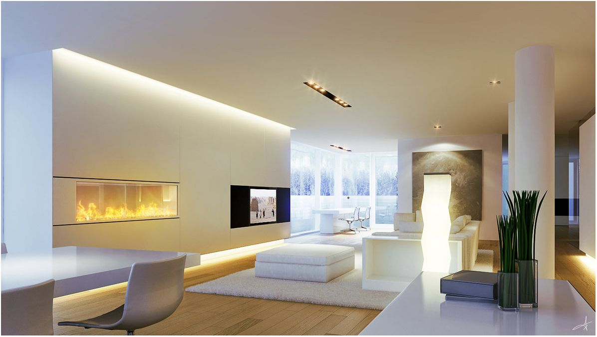 Contemporary light suggestions for living room