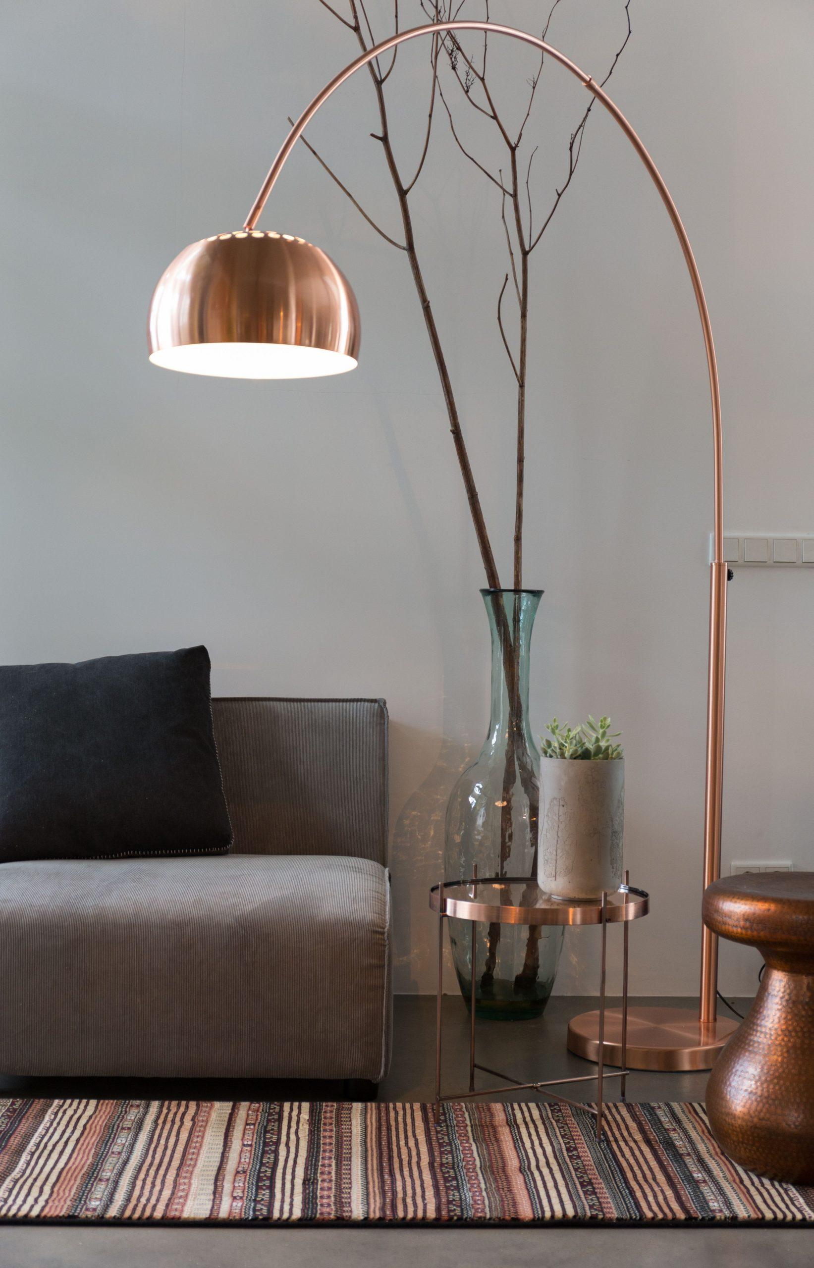Copper lamp ideas