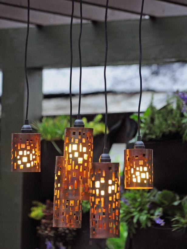 creative ideas for outdoor fixtures