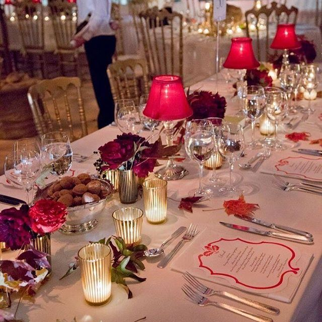 Decorate tables with shades of table lamps