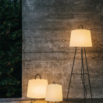 Decorate with floor and table lamps