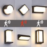 Decorate your home exterior with a led wall lamp