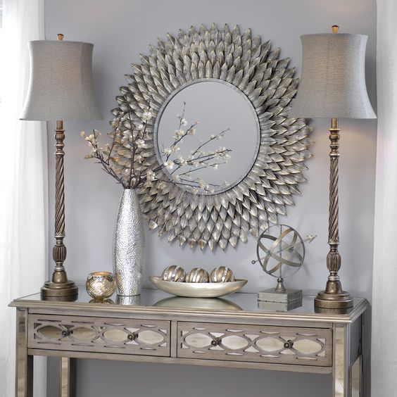 Decorate your home with a buffet lamp