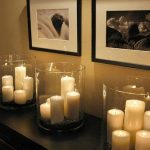 Decorate your home with candles