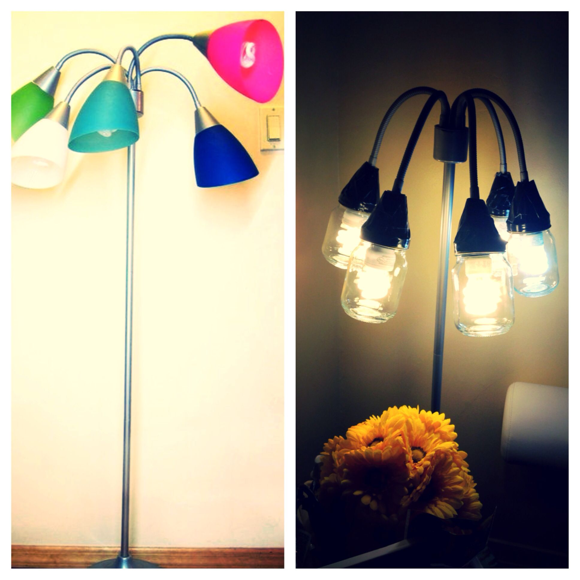 Decorate your house with colorful floor lamps