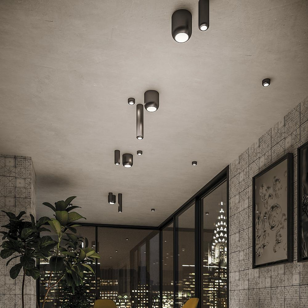 Design ceiling lighting with outdoor lamps: step by step