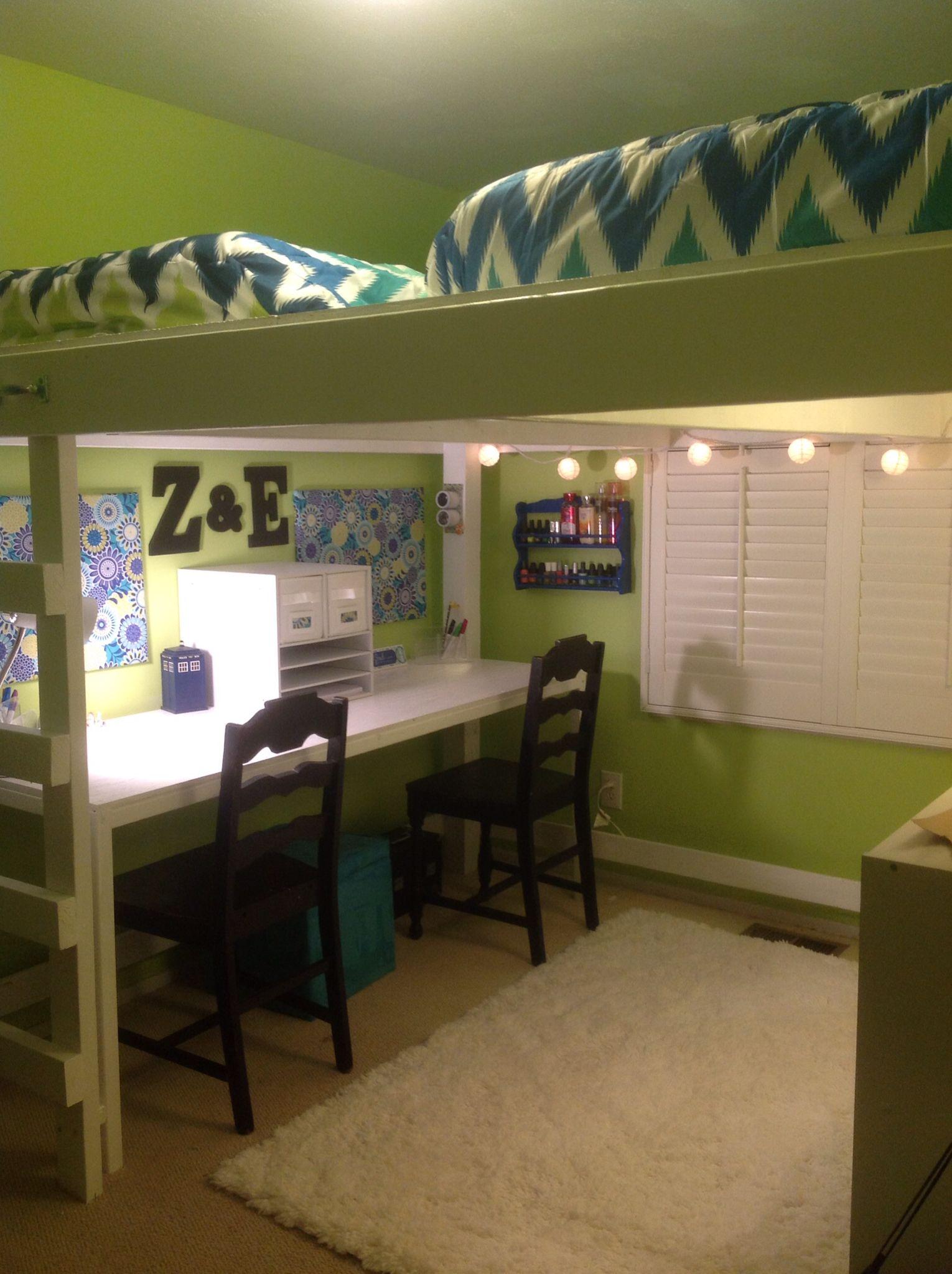 Double bunk beds ideas