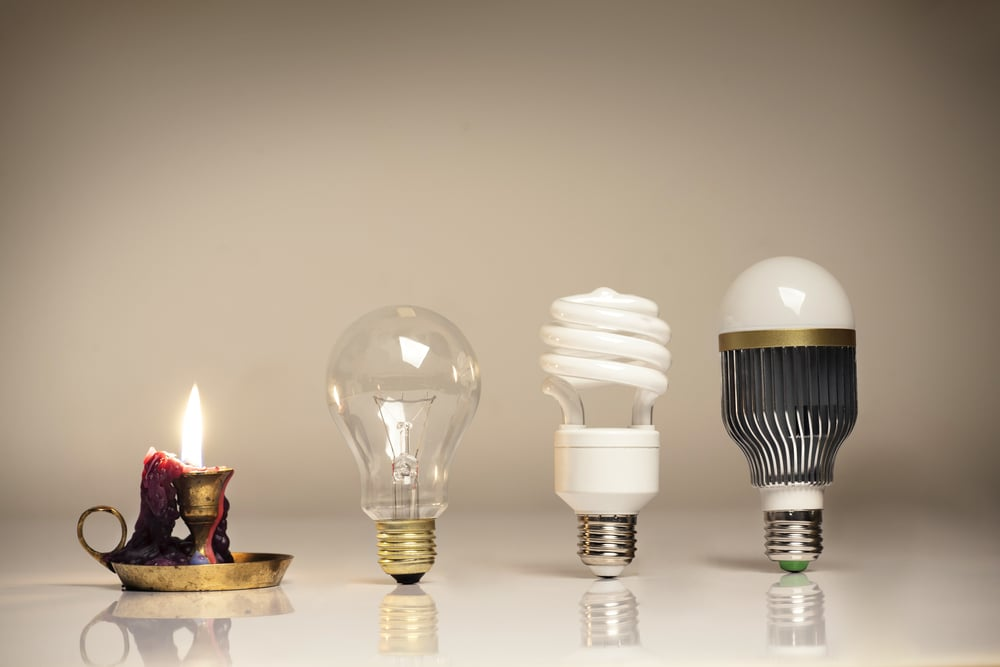 Electric lighting in the modern household
