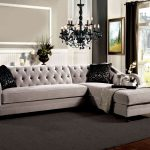 Elegance with a sofa section
