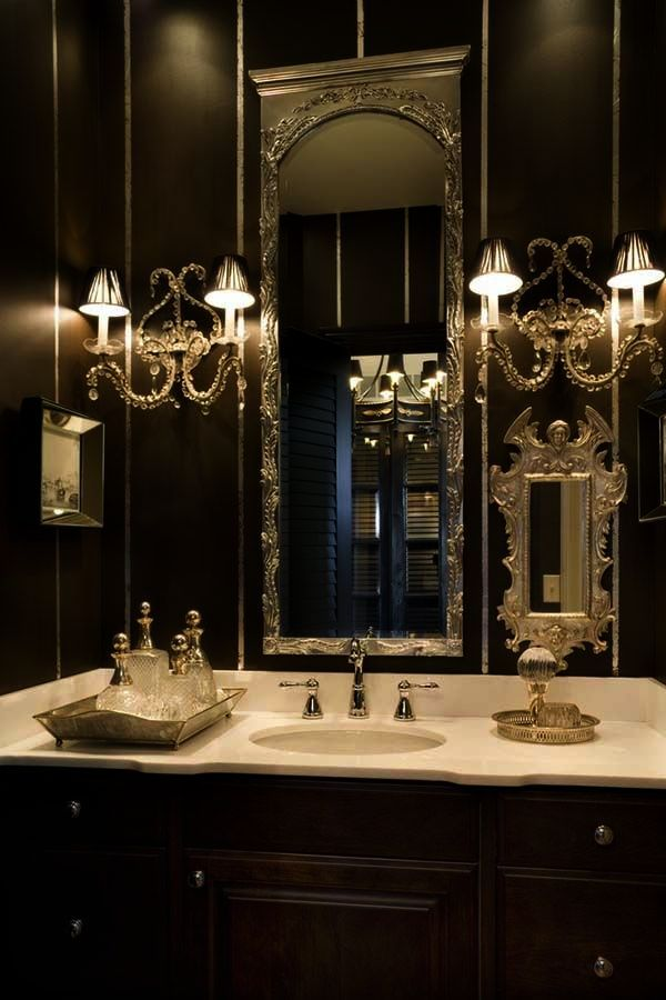 Elegant bathroom fixture