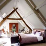 Extra large attic bed design ideas