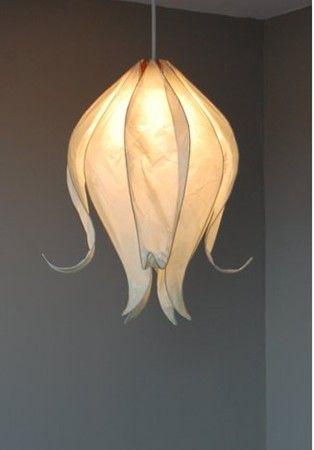 Flower floor lamp: a fantastic light source