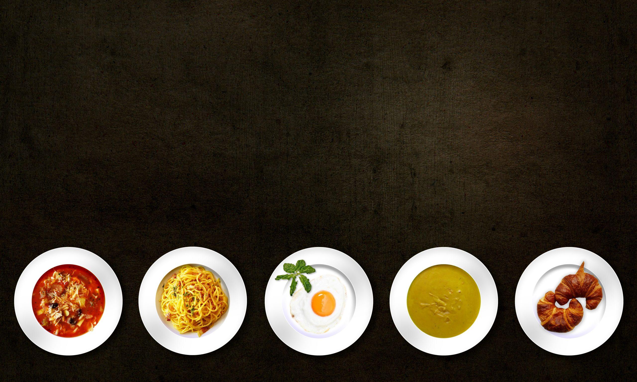 Food crowns modern trends