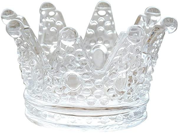 Glass crown crown