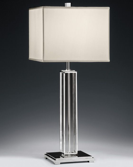 How to choose a nickel table lamp