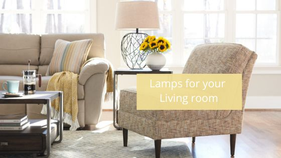 Improve your living room brass lamp