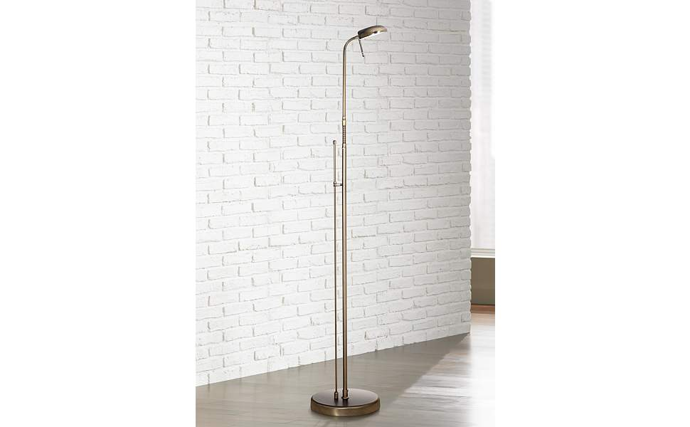 Increase your efficiency at home with the Mission floor lamp