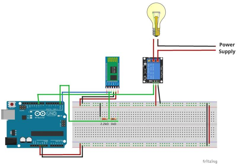 Lamp programming home automation