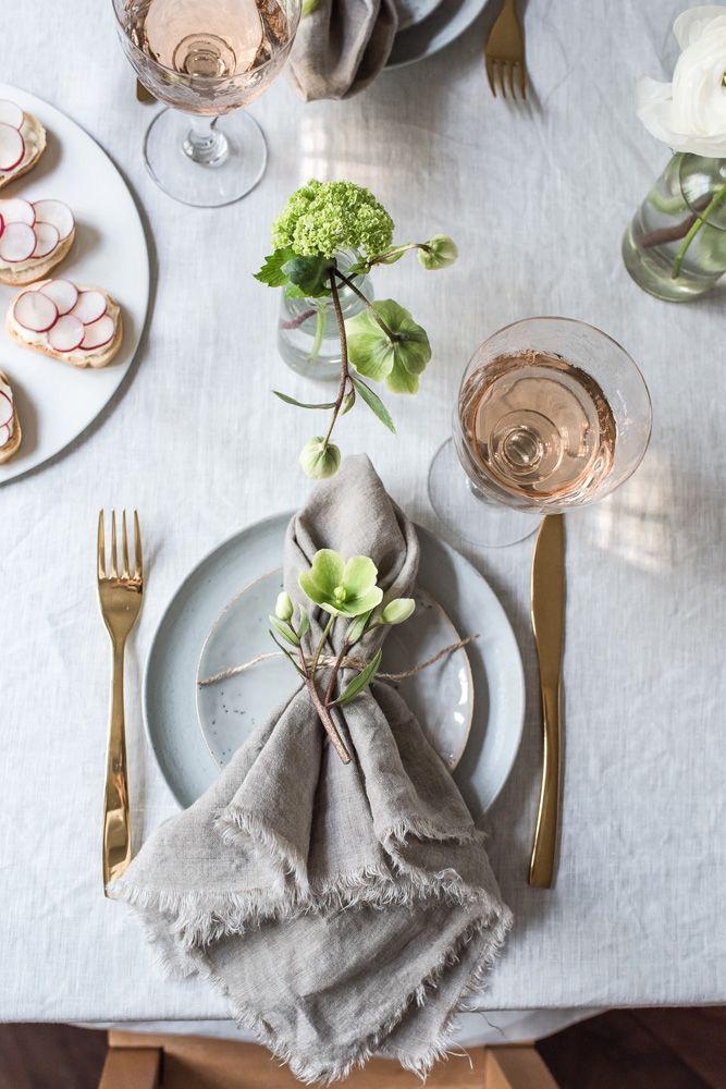 Linen napkins ideas
