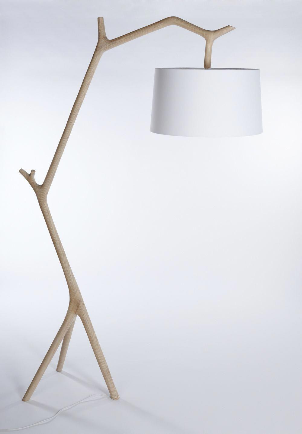 Metal floor lamp: a fantastic and unique floor lamp