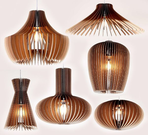 New trends: a hanging light shades