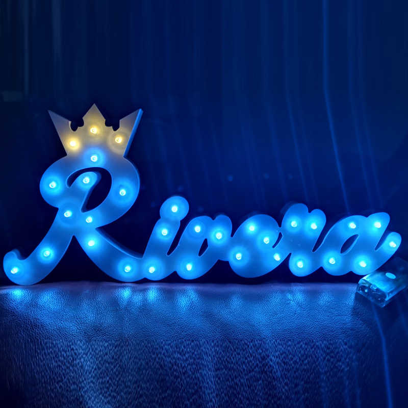 Nursery crown light up